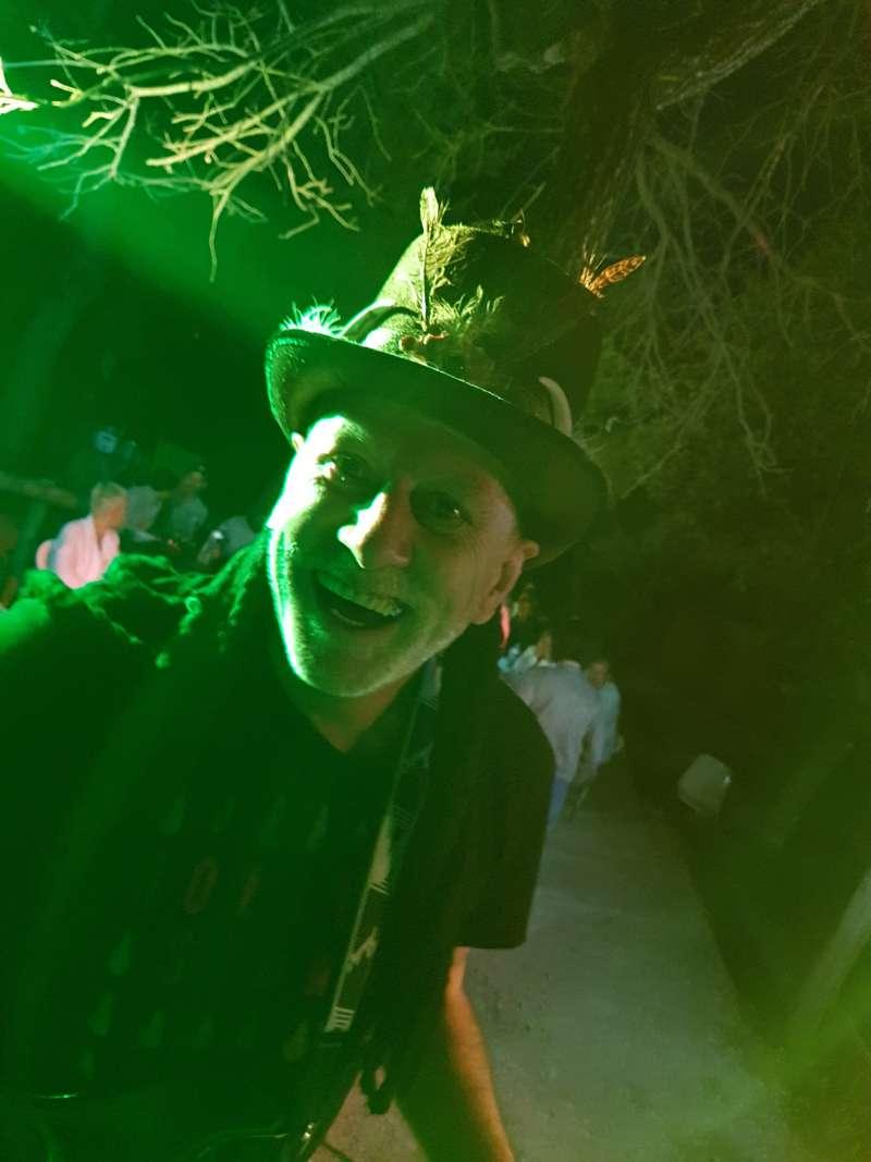 Bertrand des fifty box en concert